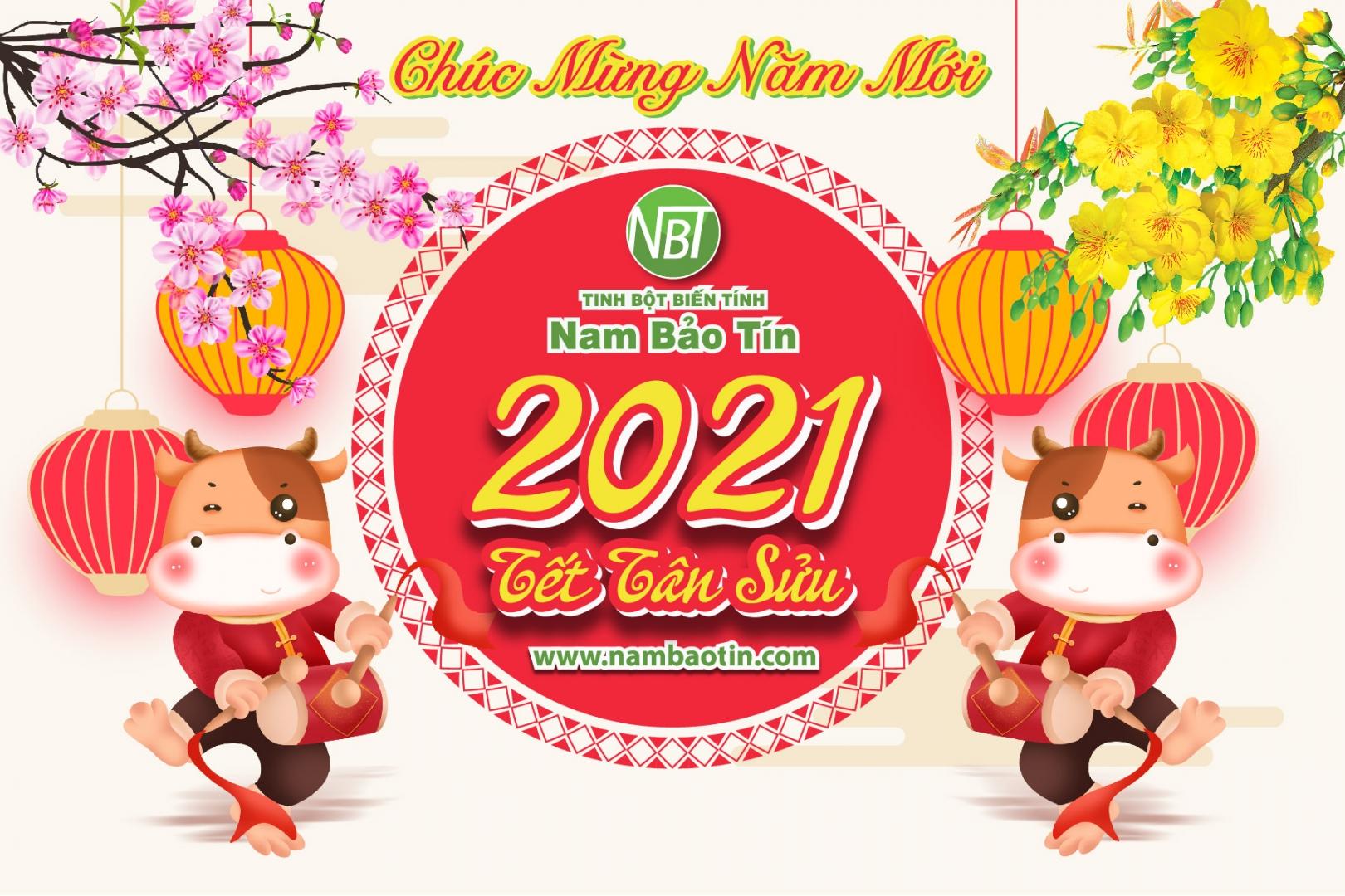 Chúc mừng năm mới - Tết Tân Sửu 2021