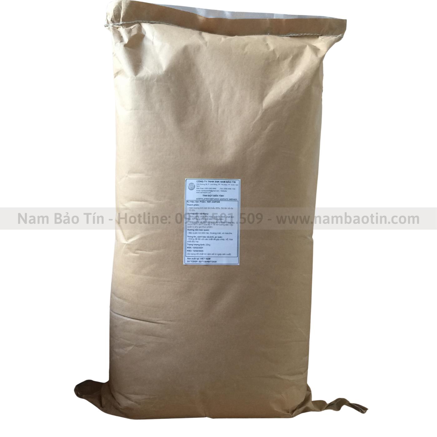 Tinh bột biến tính Acetylated Oxi Starch INS1451