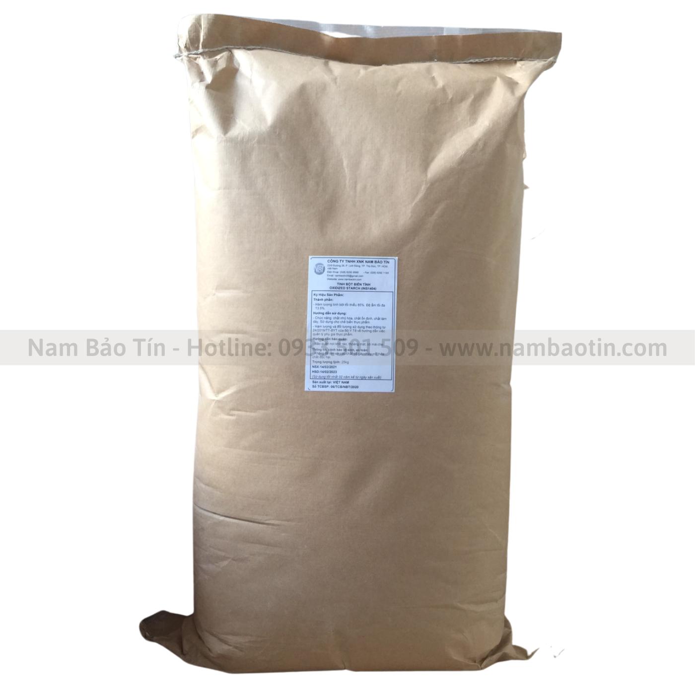 Tinh bột biến tính oxy hóa - Oxidized Starch INS1404