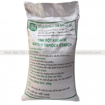 Tinh bột Khoai mì - bao 25kg