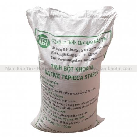 Tinh bột Khoai mì - bao 50kg